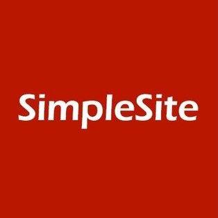 SimpleSite Hjemmeside