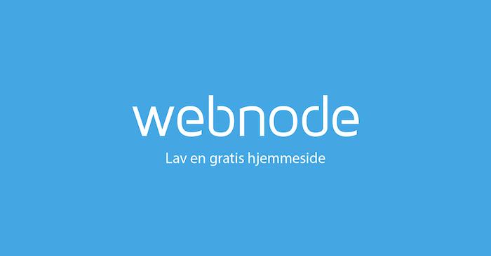 webnode hjemmeside min