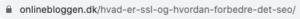 SSL-certifikat